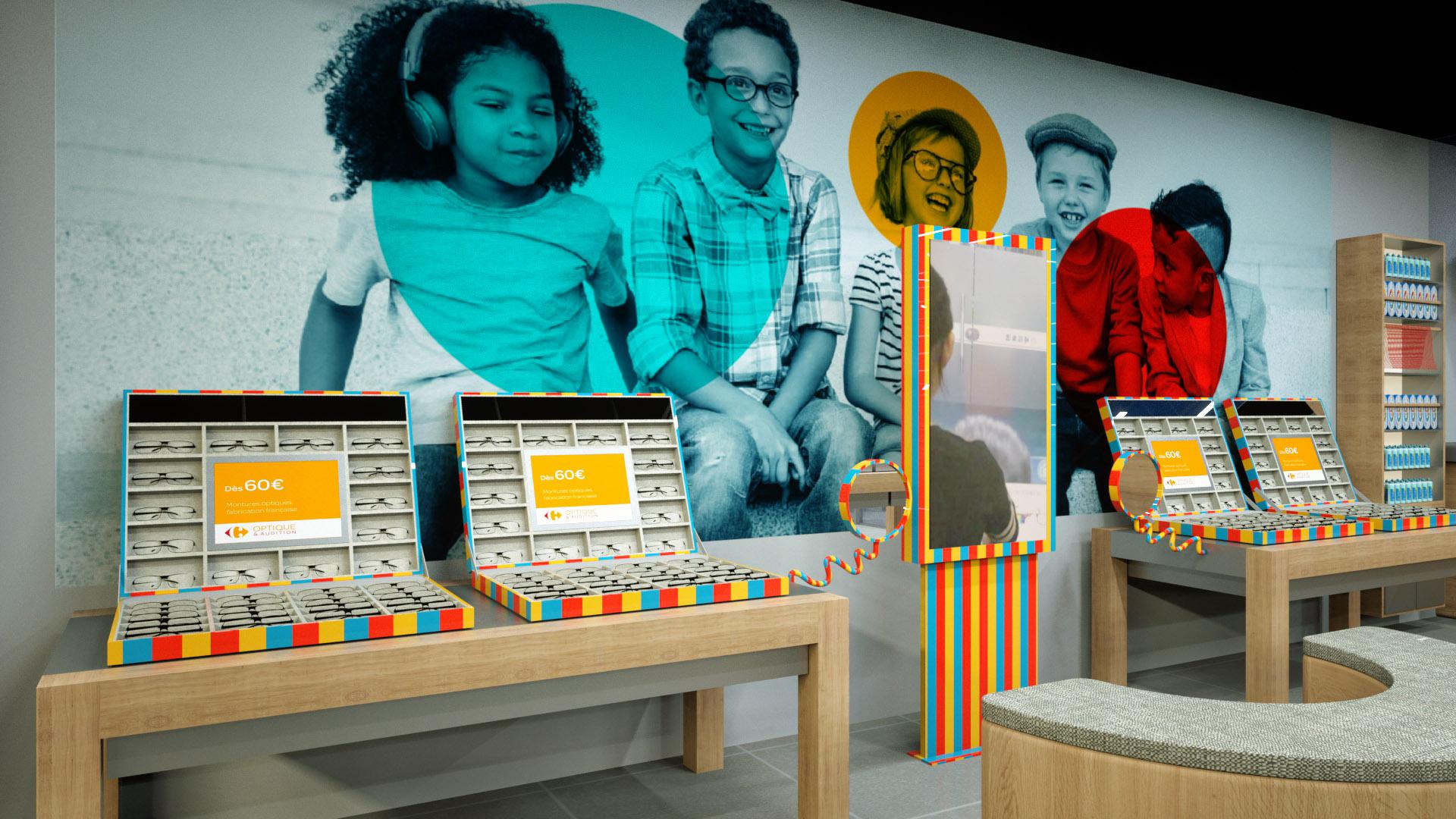 images de Synthèse Retail Design