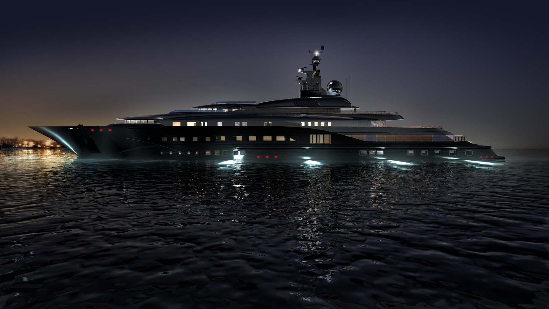 image de synthèse yacht images de synthèse 3D architecture