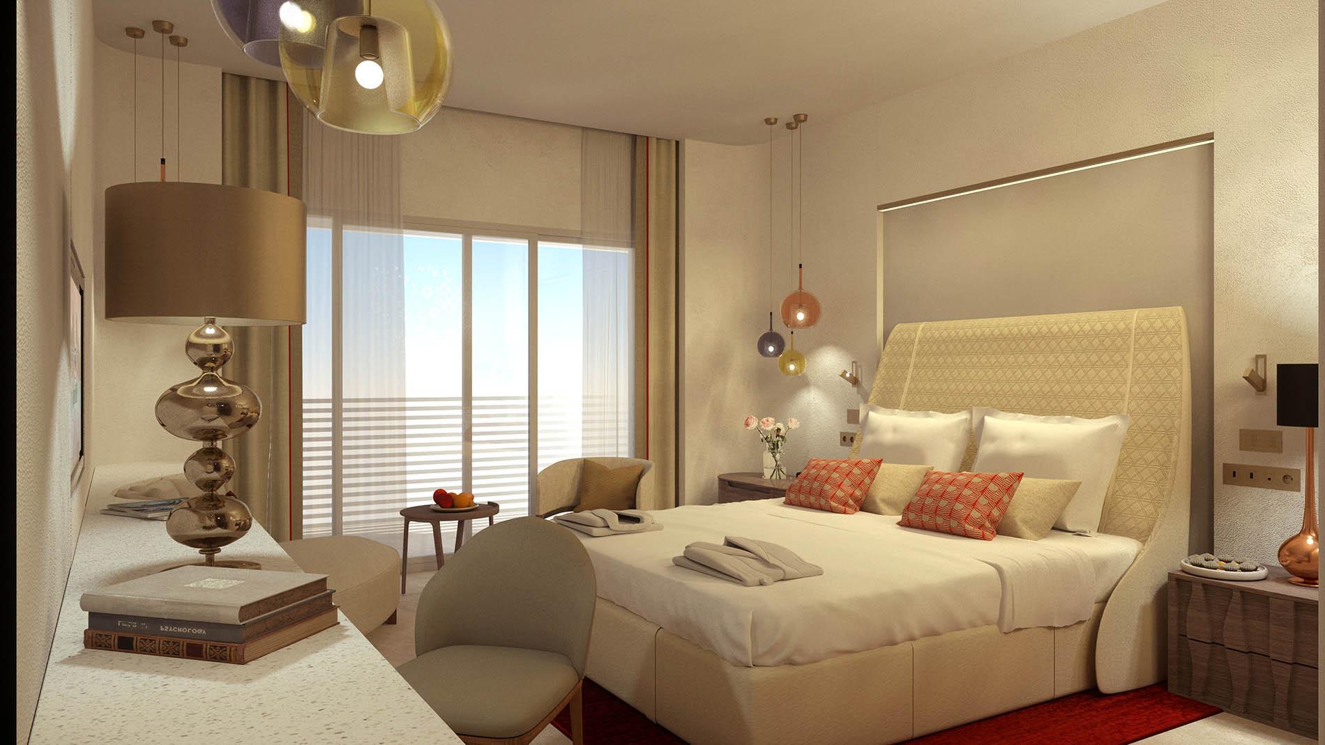 image de synthèse hôtel Hilton