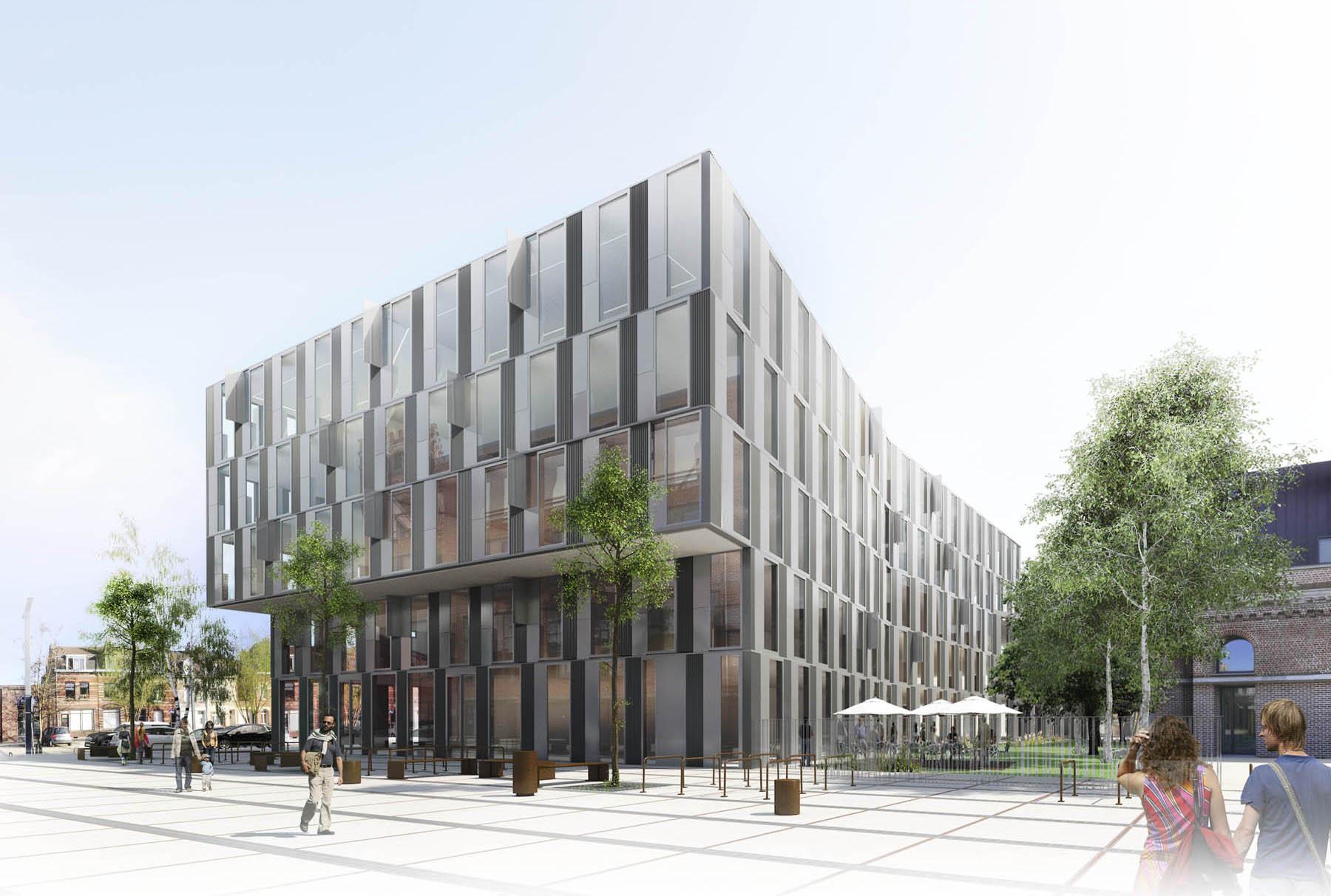 Image de synthèse de Concours d'Architecture